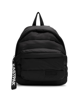 Black Puffer Pak'r Backpack by Eastpak