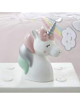 Unicorn Dreams Money Box by Dunelm