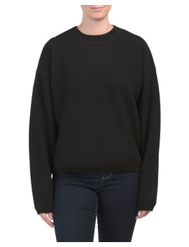 Wool Blend Pullover Sweatshirt by Tj Maxx