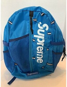 Supreme Ss17 Teal Backpack  Preowned  Rare Color!!! by Supreme