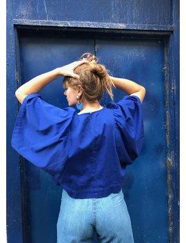 Ilana Kohn Iona Shirt   Mazarine by Garmentory