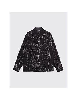 Our Legacy Heusen Shirt Alley Black by Très Bien