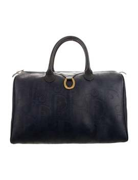 Vintage Diorissimo Duffle Bag by Christian Dior