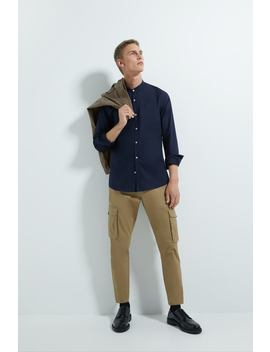 Oxford Shirt With Stand by Zara