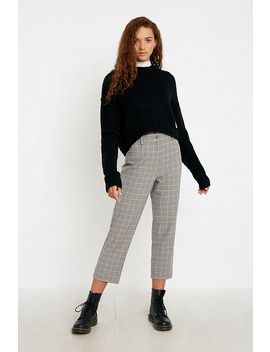 Urban Renewal Inspired By Vintage Betty Checked Skinny Trousers by Urban Renewal