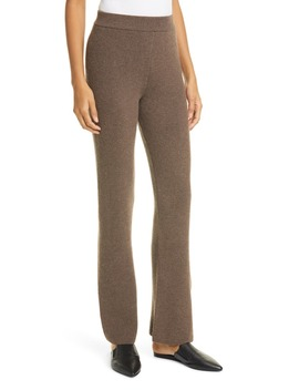 Leba Rib Merino Wool Blend Pants by Nanushka