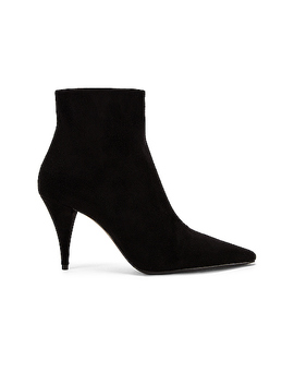 Kiki Zip Booties by Saint Laurent