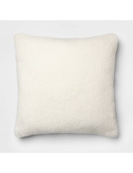 Faux Sheepskin Throw Pillow   Threshold™ by Shop Collections