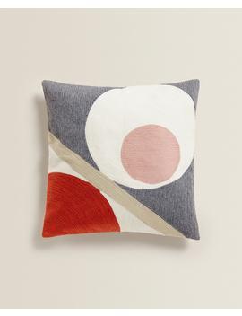 Kussenhoes Met Abstract Motief Sierkussens   Woonkamer by Zara Home