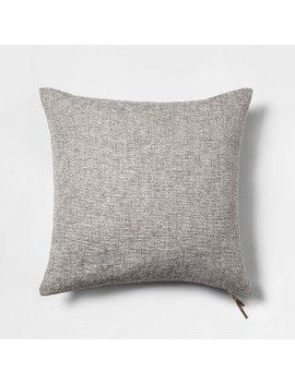 Woven With Exposed Zipper Throw Pillow   Project 62™ by Shop Collections