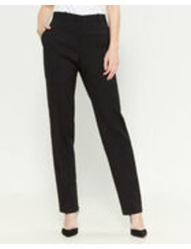 Wool Straight Leg Trousers by Jil Sander