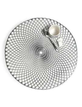 Round Placemat In Silver D 38cm    Noho by Maisons Du Monde