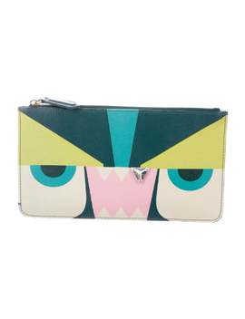 Monster Zip Pouch by Fendi