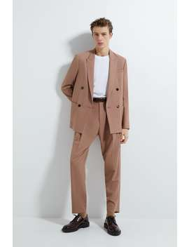 Pleated Suit Pants by Zara