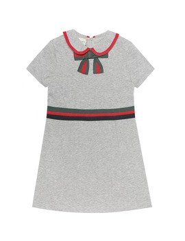 Cotton Jersey Dress by Gucci Kids