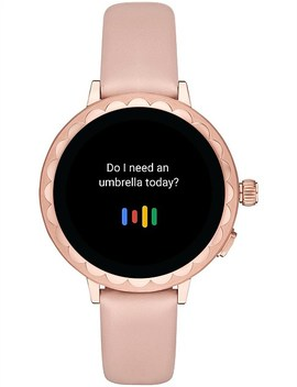 Scallop Beige Display Smartwatch by Kate Spade New York