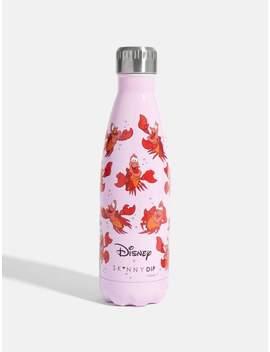Disney X Skinnydip Sebastian Water Bottle 500ml by Skinnydip