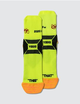 Industrial Y013 Ankle Socks by Off White