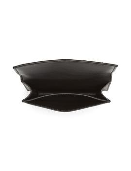 Intrecciato Foldover Leather Wallet by Bottega Veneta