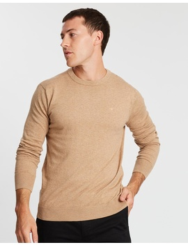 Cotton Cashmere Crew Neck Knit by Scotch & Soda