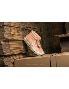 Vans Sk8 Hi Reissue Zip (Veggie Tan Leather) by Vans