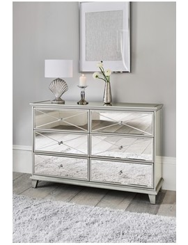 Florence 6 Drawer Wide Chest by Next