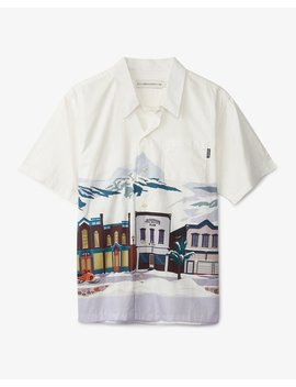 Scenic Print S/S Shirt by Billionaire Boys Club