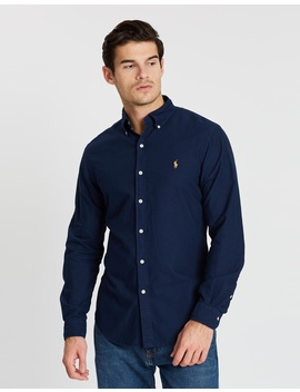 Garment Dyed Oxford Slim Fit Shirt by Polo Ralph Lauren