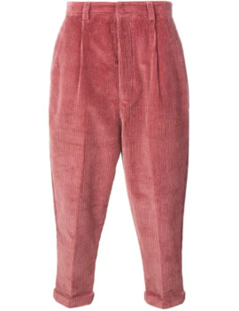 Oversized Carrot Fit Trousers by Ami Paris