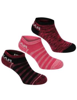 Yoga Sock 3 Pack Ladies by La Gear