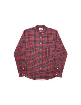 Palace Lumber Waved Shirt Red by Stock X