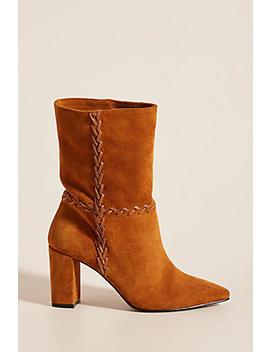 Farylrobin Whipstitched Calf Boots by Farylrobin
