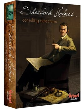Sherlock Holmes Consulting Detective by Space Cowboys