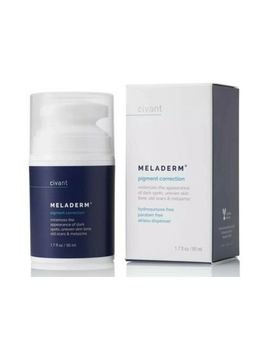 Meladerm Skin Whitening Cream 1.7oz (50ml)Brand New by Civant
