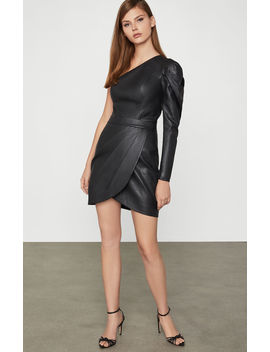 Faux Leather Mini Skirt by Bcbgmaxazria