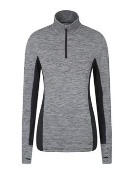 Pacesetter Half Zip Womens Midlayer by Mountain Warehouse