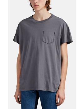 Deconstructed Cotton T Shirt by Maison Margiela