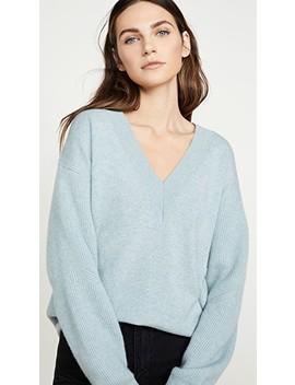 Logan Cashmere V Neck Sweater by Rag & Bone