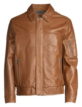Balthazar Leather Jacket by Andrew Marc