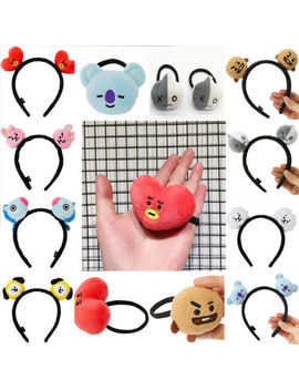 Bt21 Headbands Hair Band Tie Hairpin Bangtan Boys Chimmy Tuck Comb Gift by Unbranded