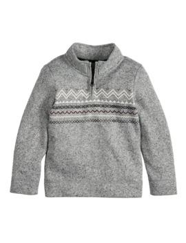Boys 4 12 Sonoma Goods For Life™ 1/4 Zip Fleece Sweater by Sonoma Goods For Life