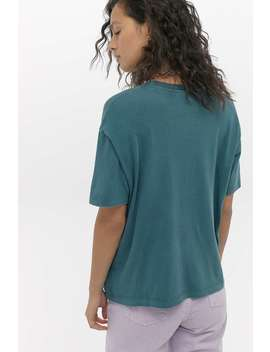 Uo   T Shirt à Imprimé Soleil by Urban Outfitters