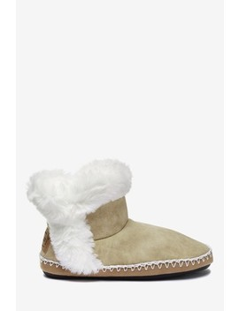 Superdry Tan Slipper Boots by Next