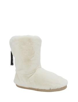 Animal Coconut Cream Bollo Slipper Boots by Next
