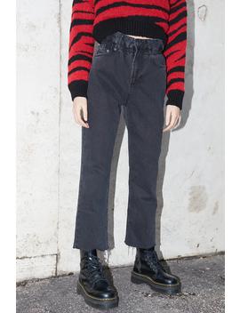 Jeans Boyfriend Arricciato In Vita by Subdued