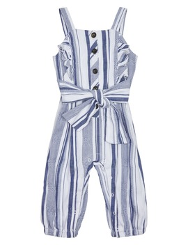 Stripe Jumpsuit by Habitual