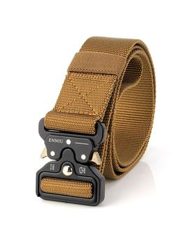 Survival Military Nylon Belts For Men Tactical Belt Waist Belt Strap Military Emergency Edc Gadget   Black by Banggood