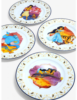 Disney Aladdin Plate Set by Box Lunch