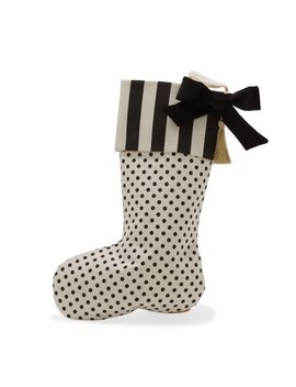 Belham Living Polka Dot Stripe Stocking by Belham Living