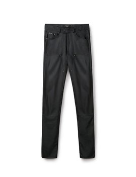 Leather Pant   Black by Represent